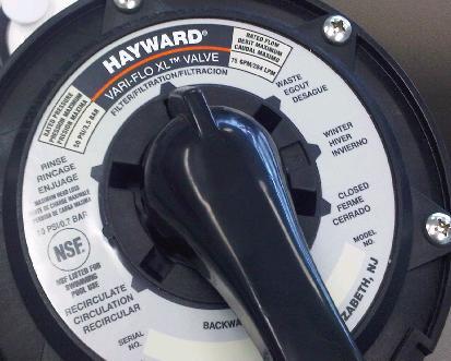 Qca Pools And Spas Hayward Filter Valve Controls