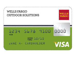 Wells Fargo OUTDOOR SOLUTIONS Card
